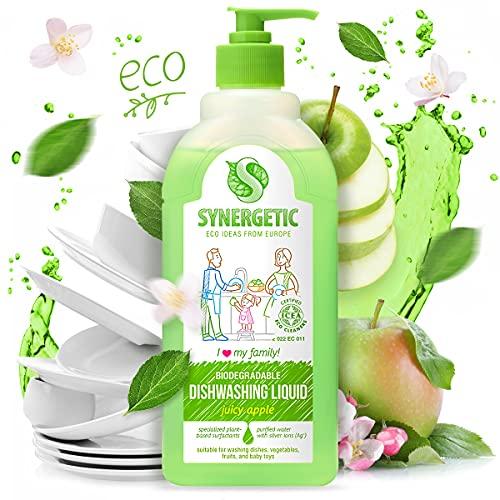 Gel de lavado sinérgico biodegradable 'manzana', 0,5 l