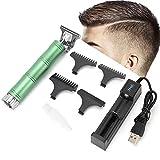 Retro Haarschneider für Männer, T-Blade Trimmer Clippers Friseur Zubehör 4 Stück Limit Comb...