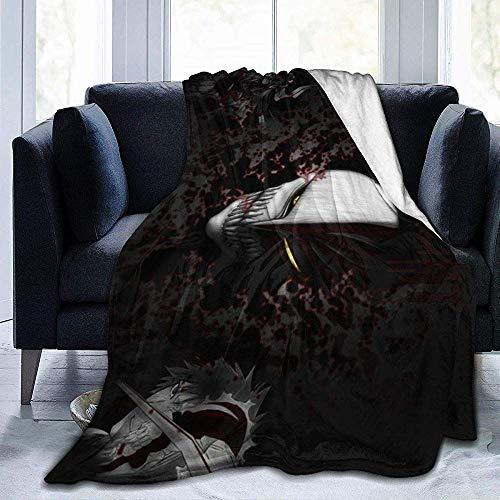 BLANKNTC Schlafsofa Couchdecke Die ultimative E-vil M-Ask Fleecedecke-Überwurf-/Reise-Leichte Soft-Warm-Überwurfdecke-Ganzjahres-Premium-Schlafdecke M