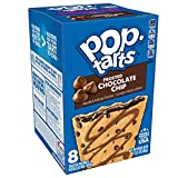 Pop-Tarts, Breakfast Toaster Pastries, Frosted Chocolate Chip, Proudly Baked in the USA, 13.5oz Box (Pack of 8)