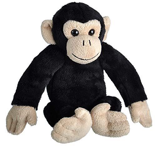 Wild Republic 23323 Schimpanse Kuscheltier, Wild Calls Stofftier mit Originalsound, Plüschtier, 20 cm, Multi
