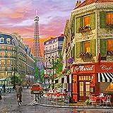 ChamberArt 2000 Piece Premium Jigsaw Puzzles Distance of The Eiffel Tower A-2013 by Dominc Davison