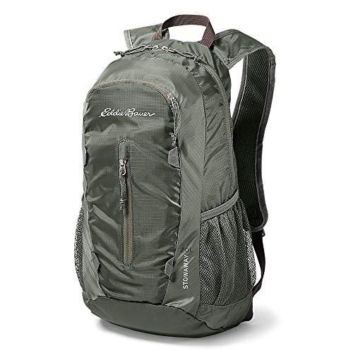 Eddie Bauer Unisex-Adult Stowaway Packable 20L Daypack, Capers Regular ONESZE