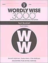 wordly wise 3000 book 7 test booklet