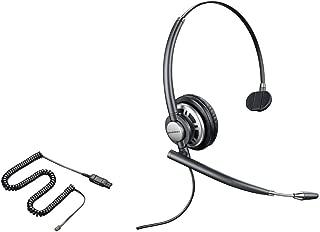 Cisco Compatible Plantronics EncorePro 710 HW710 Noise Canceling Direct Connect VoIP Headset Bundle Cisco 6921 6941 6945 6961 7821 7841 7861 7931G 7940G 7941 7941G 7942G 7945 7945G 7960 7960G 7961 7961G 7965G 7970 7970G 7971G 7975G 8811 8841 8851 8861 8941 8945 8961 9951 9971