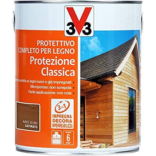 V33 Protettivo Completo Protezione Classica Noce Scuro 2.5 l