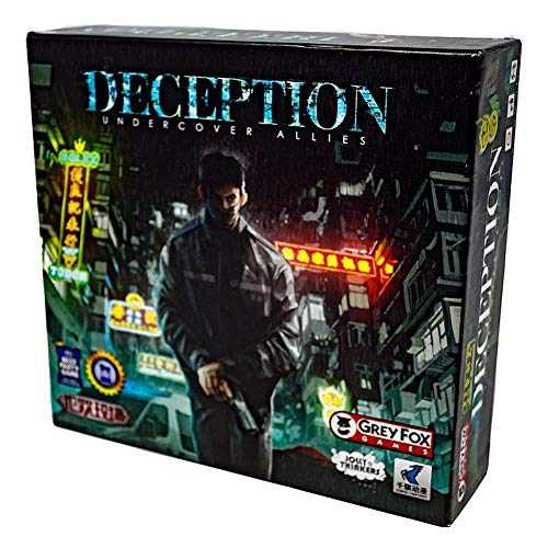 Jolly Thinkers PJOL05 Undercover Allies: Deception (CS2): Murder in Hong Kong (CS-Files) exp, Mehrfarbig