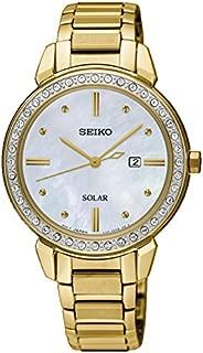 Seiko Women SUT330P Year-Round Analog Quartz Gold Watch