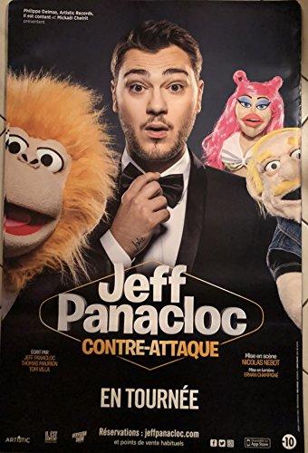 Générique Jeff Panacloc - Contre-Attaque - 80x120cm - Affiche/Poster