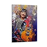 diannao Carlos Santana Leinwand-Kunst-Poster und