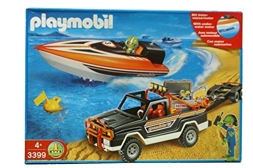 PLAYMOBIL® 3399 - Speedstar - Rennboot mit Pickup