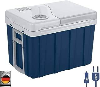 Mobicool W40 AC/DC - Nevera termoeléctrica portátil, conexiones 12 V/230 V,  39 litros de capacidad, Azul/Gris