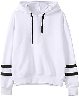 kaifongfu Sales, Womens Long Sleeve Hooded Sweatshirt Jumper Hoodies Pullover Tops Blouse