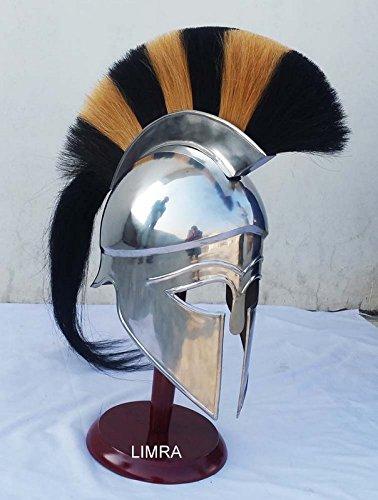 classical.gift.export Brass Roman Officer Centurion Historical Helmet Armor HM912 Plume Medieval