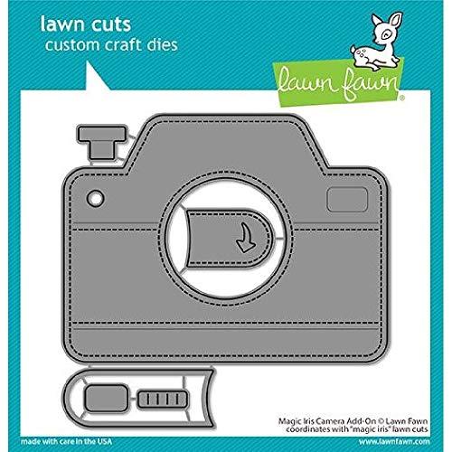 Lawn Fawn LF2344 Magic Iris - Troqueles para cámara