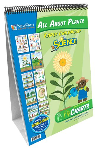 NewPath Learning All About Plants Curriculum Mastery Flip Chart Set, Early Childhood