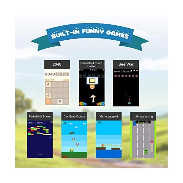 Niños Smart Watch Phone, La Musica Smartwatch para niños de 3-12 años Niñas con cámara Ranura para Tarjeta SIM Juego de… 4