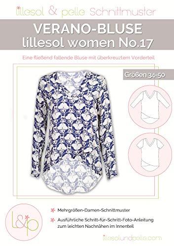 Lillesol & Pelle Schnittmuster women No17 Verano-Bluse Papierschnittmuster