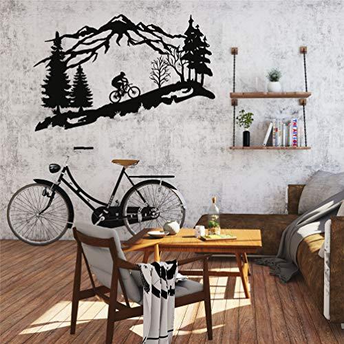 Metal Bike Wall Art