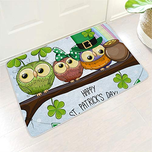 Veryday Felpudo St. Patrick's Day trébol