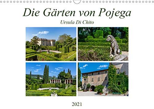 Die Gärten von Pojega (Wandkalender 2021 DIN A3 quer)