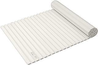 パール金属 風呂ふた ホワイト 75×124cm シャッター式 スタイルピュア L12 HB-4387