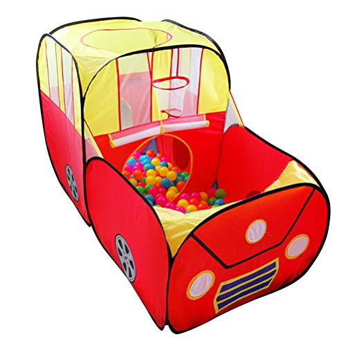 KUANDARMX sécurité Children's Foldable Car Tent Play House Play House/House for Indoor and Outdoor Use Doux