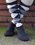 Rhinegold Cool & Dry Cushioned Sole Riding Socks-Black/Grey