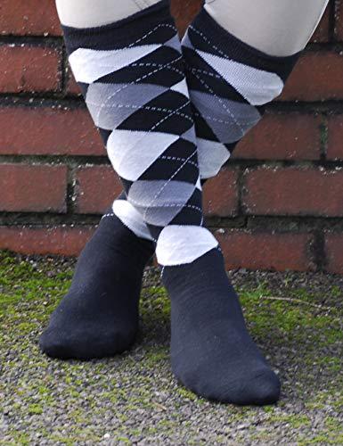 Rhinegold Cool & Dry - Calcetines de equitación con suela acolchada, color negro y gris