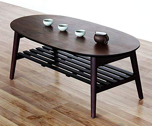 Furniture Decoration Tables Side Tables Lapdesks Coffee Cocktail Bamboo End Foldable TV Sofa Desk/Center Side With Removal Storage Shelf For Living Room Furniture No Assembly Large for All Workstat