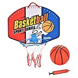 Exuberia Canasta Baloncesto Infantil Interior, Mini Canasta De Baloncesto, Juegos De Aire Libre Y De Interior para Niños Y Niñas