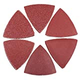 Sanding Pads for Oscillating Multitool - 60PCS Hook and Loop Sandpaper, 40 60 80 120 180 240 Assorted Grits...