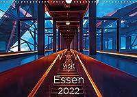 Visit Essen 2022 (Wandkalender 2022 DIN A3 quer): Essen, die wandelbare Stadt an der Ruhr - gruen, vielseitig und liebenswert (Monatskalender, 14 Seiten )