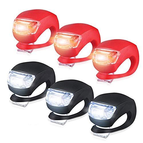 Mini-Lampe, LED-Licht, für Fahrrad, wasserdicht, Stroboskop, oder Rücklicht, für Laufen, Jogger, Rollstuhl, Beleuchtung für Kinderwagen