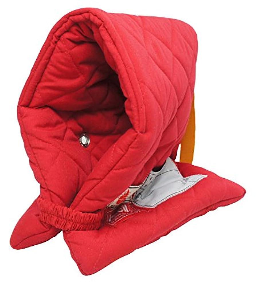 許さない迫害磨かれたファシル 防災頭巾 幼児用 プレミアム レッド 8063