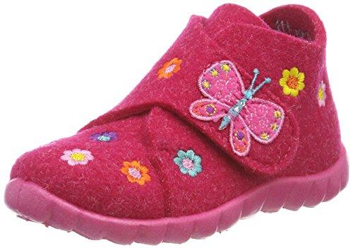 Superfit Baby Mädchen HAPPY Hohe Hausschuhe, Rosa (Pink Kombi 64), 19 EU