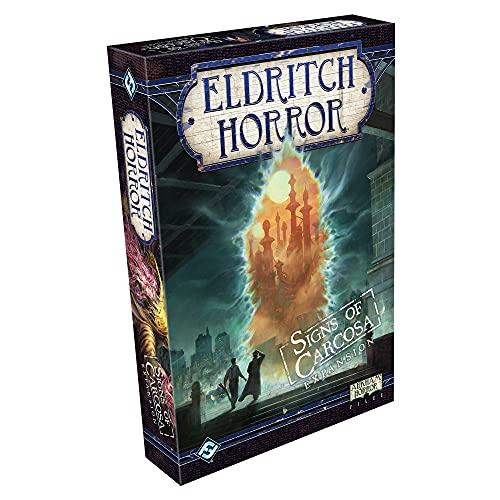 Fantasy Flight Games Eldritch Horreur: Signes de l'expansion de Carcosa