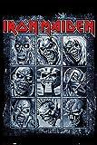 Close Up Iron Maiden Poster Eddie's Evolution (61cm x