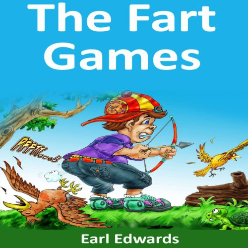 The Fart Games audiobook cover art