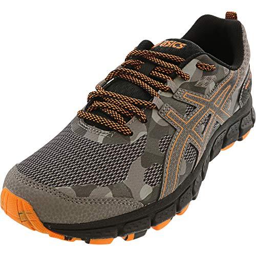 ASICS Men's, Gel-Scram 4 Trail Running Shoe Grey Orange 9.5 D