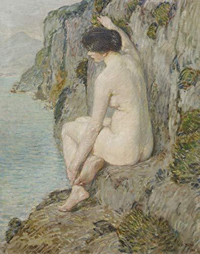 Berkin Arts Childe Hassam Giclée Leinwand Prints Gemälde Poster Reproduktion(Die Loreley)