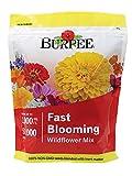 Burpee Wildflower Fast Blooming Mix 50,000 Seeds, Multi