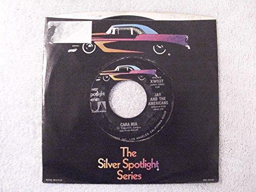 Cara Mia / Let's Lock The Door Silver Spotlight Reissue 45
