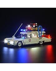 LIGHTAILING Ljusset för (Ghostbusters Ecto-1) byggstenar modell - LED-ljussats kompatibel med Lego 21108 (ingår inte modellen)