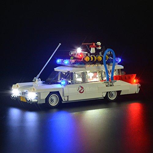 LIGHTAILING Licht-Set Für (Ghostbusters Ecto-1) Modell - LED Licht-Set Kompatibel Mit Lego 21108(Modell Nicht Enthalten)