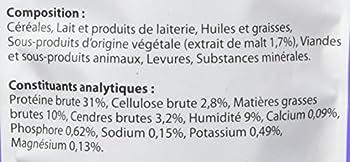 BEAPHAR – Friandises Exo'Poils au Malt pour Chat – Complément alimentaire – Empêche la formation de boules de poils et favorise le bien-être intestinal – Sachet refermable de 35 g