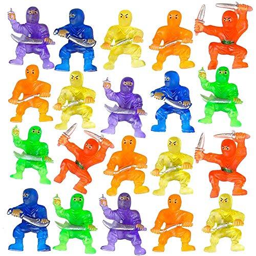 ArtCreativity Mini Ninja Figurines, Pack of 48,...