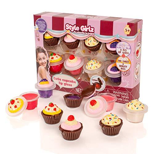 S&Li Cosmetics Cutie Cupcake Ensemble à lèvres 8 pièces