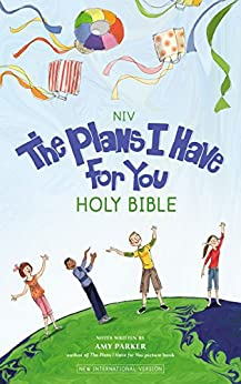 NIV, The Plans I Have for You Holy Bible by [Zondervan,, Amy Parker]