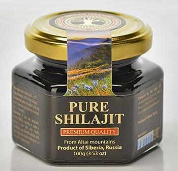 Pure Authentic Shilajit Siberian Mumijo 100 grams 3.5 OZ